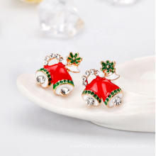UNIQ AE003 Women Christmas Earring Stud Hypoallergenic Christmas Gifts for Teens Girls Cute Festive Earrings Jewelry