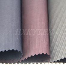 Gestreifte Semi Speicher Polyestergewebe für Men′s-Jacke