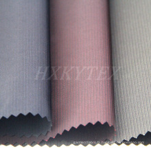 Tissu de Polyester de mémoire Semi rayé pour veste prénatale