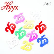 HYYX Best Sale factory número directo 25 forma de lentejuelas festival