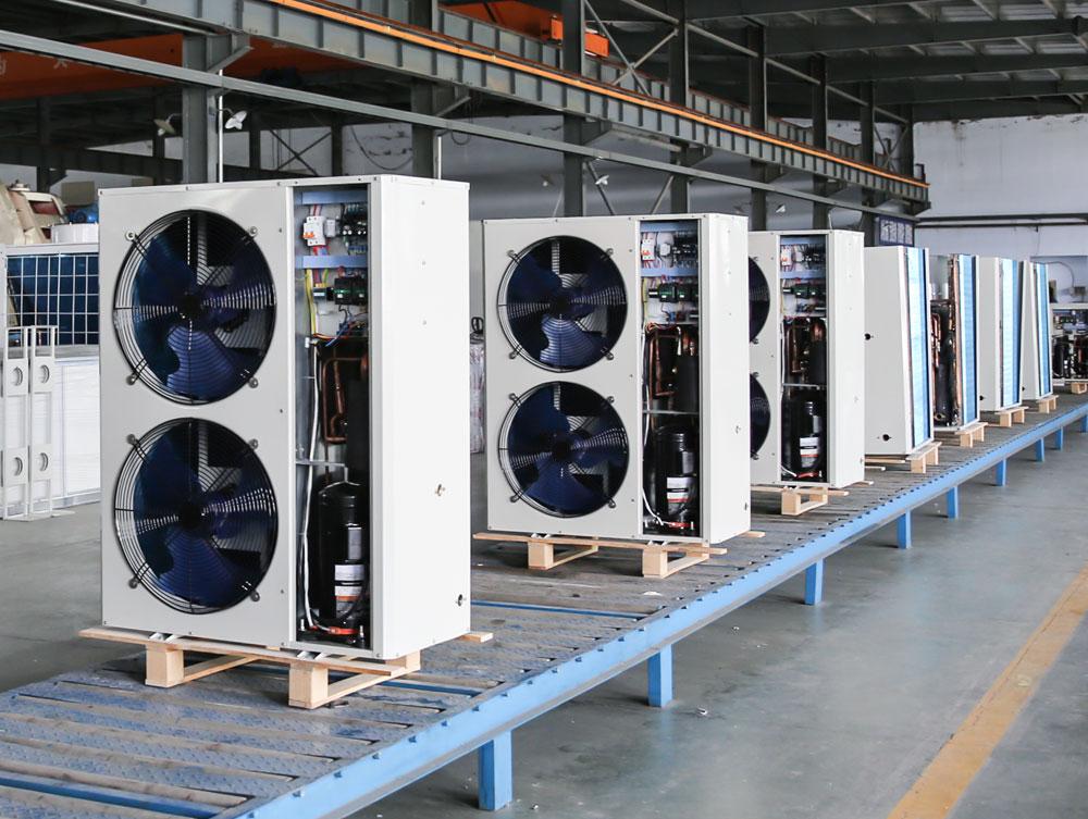Winter Monoblock Air to Water Heat Pump Inverter
