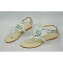 Sandálias lisas do estilo do PNF das senhoras (Hcy02-101)