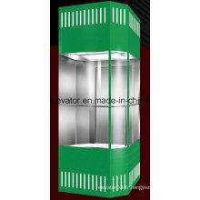 Ascenseur panoramique de sécurité avec forme carrée (JQ-A012)
