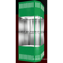 Safety Panoramic Elevator with Square Shape (JQ-A012)