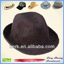 LSC66 barato 100% sombrero de algodón, casquillo de la promoción para el sombrero unisex del invierno de la mujer del algodón
