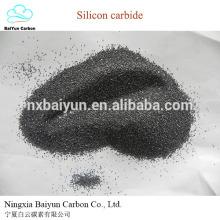 SIC 98.8% min Prix de poudre de carbure de silicium noir sur le prix discount