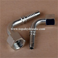 High pressure flexible metal fittings hydraulic brake hose