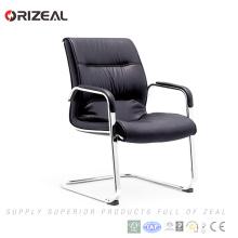 Chaise d'attente de chaise d'attente de bureau de cuir d'Orizeal, chaise d'invité (OZ-OCL007C)