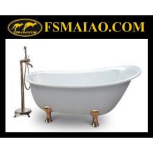 Античный стиль ванной акриловой классической отдельно стоящей ванной (BA-8301B)