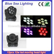7pcs 15w conduziu a luz do estágio / a luz conduzida do feixe / o feixe conduzido