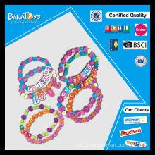 Diy toys girl beauty toy set alphabet toy filling beads