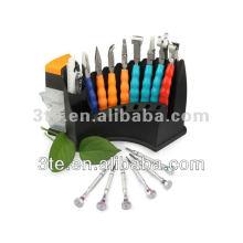 Paquete de regalo de herramientas ópticas, alicates ópticos conjunto (grande)