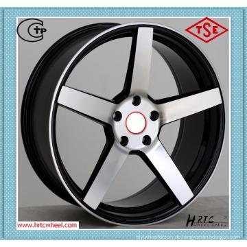 Hochleistungs-konkurrenzfähiger Preis Auto-Leichtmetallfelgen 17 Zoll vom direkten Hersteller