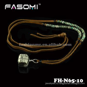 Новая мода шарик минеральных нагрудник мужчин ожерелья образцов