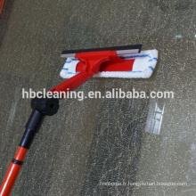 Raclette robuste, équipement de nettoyage de vitres à longue portée
