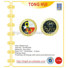 Gold Plating Metal Commemorative coin,souvenir coin for Airforce/Army