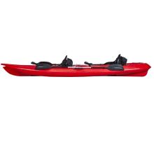 double seat 2 person kayak for fishing wholesale plastic kayak LLDPE