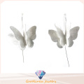 925 Sterling Silver Butterfly Earring for Woman′s Fashion Jewelry (E6573)
