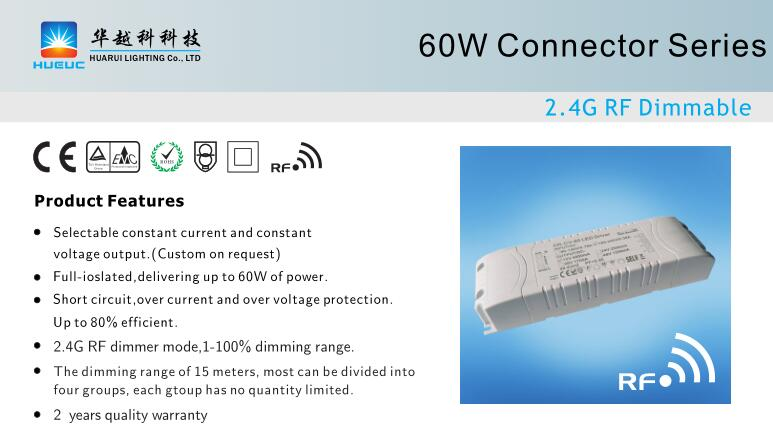 60W wireless led driver