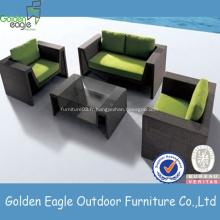 Sofa en osier de meubles de salon a placé la petite table