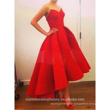 Alibaba Elegant Simple High Low Nouveau Designer Sweetheart Short en avant longues robes de soirée ou Robe de demoiselle d'honneur LE19
