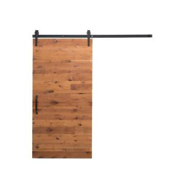 Porte de grange pour contournement à lames horizontales, style shaker