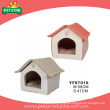 Idoor Fabric Dog House Pet Bed (YF87019)