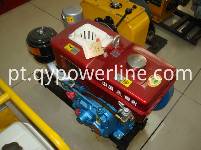 Stringing Equipment 5T diesel engine powered winch