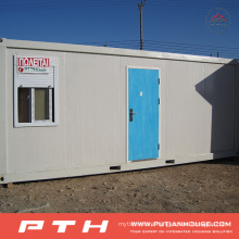 China Prefabricated Living Container House as Modular Home Project