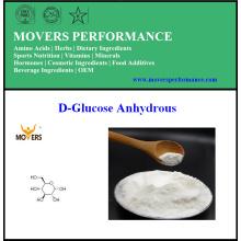 Dextrose de haute qualité de catégorie comestible / anhydride anhydre de D-glucose