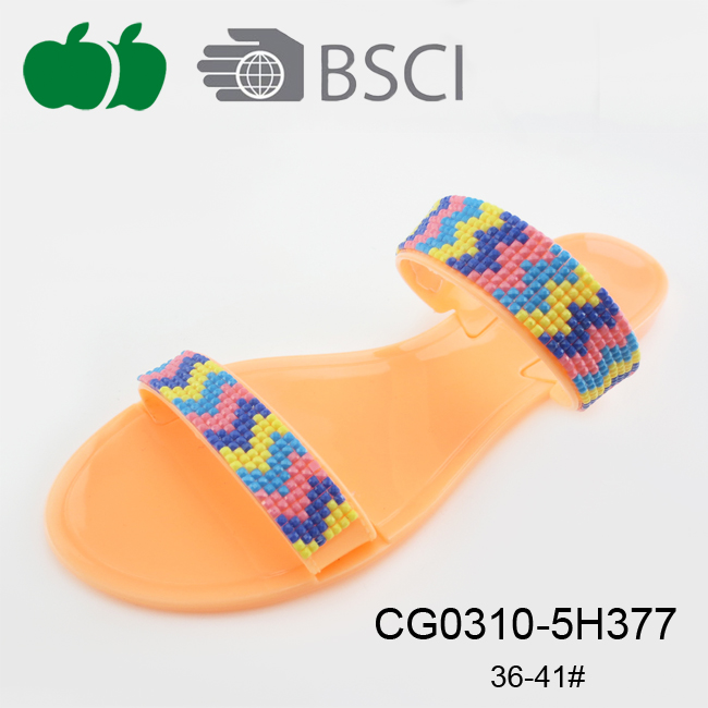 fashion women pvc slippers