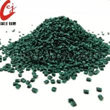 Gránulo plástico verde de Masterbatch del PVC