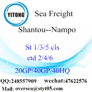 Shantou Port Sea Freight Shipping ke Nampo