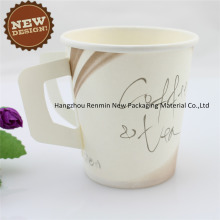 Disposable Cafe Coffee Handle New Design Paper Cup