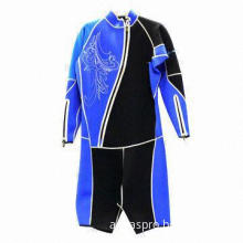 Men's Shorty Surfing Wetsuit, Special Design with Long Sleeves and Short Pants