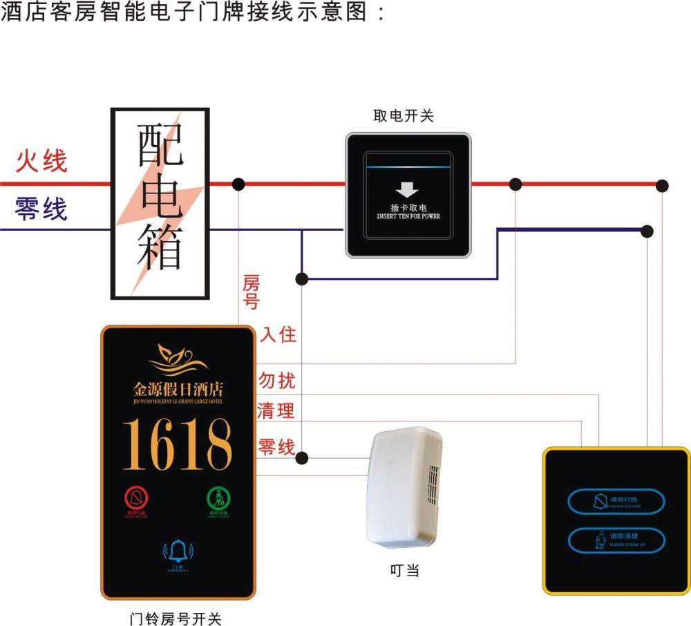 Doorbell Doorplate Wiring Diagram High Voltage Weak Current