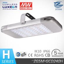 UL Dlc LED alta Bay luz 240W com Philips LEDs Meanwell Driver