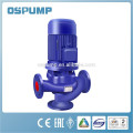 Vertical inline Cast Iron sewage Pipe Pump