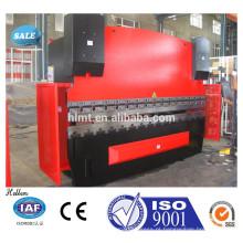 CNC Prensa hidráulica de chapa metálica, máquina de dobrar aço metálico