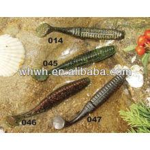 Soucis de pêche en plastique doux 10.5cm / 8.8g moules de leurres de pêche