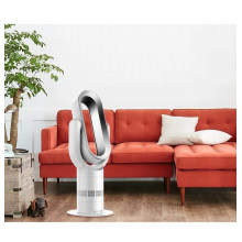 High Quality ABS Portable 10 inch Bladeless fan heater in Guandong