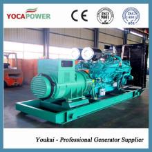 Generador diesel de la energía 1200kw / 1500kVA del motor de Cummins (KTA50-G8)