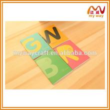 Mais vendidos produtos chineses quentes de caderno de estudante de tamanho pequeno, diário personalizado