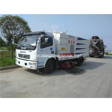 Dongfeng 4x2 road sweeper sanitation truck for sale