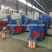 Équipement de fabrication de câble de 13DT RBD (1.2-4.0) machine de tréfilage de tige de cuivre avec ennealing