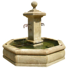 Fuente occidental francesa de la piedra del jardín al aire libre del proveedor chino