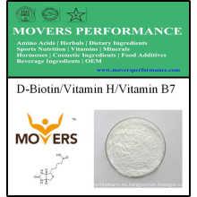 Suplemento Nutricional D-Biotina / Vitamina H / Vitamina B7
