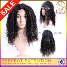 Sunny May Afro Yaki Curl Brazilian Hair Wholesales Lace Front Wigs
