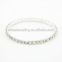Top fornecedor blingbling jóias brilhante strass charme strass luxo pulseira