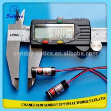 Linha verde do ponto do módulo do laser de 532nm 1mW 5mW 10mW